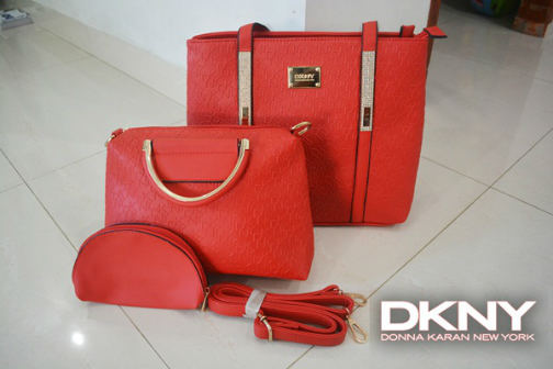 B2015-(3in1) IDR.235.000 MATERIAL PU SIZE L35XH28XW15CM WEIGHT 1100GR COLOR RED