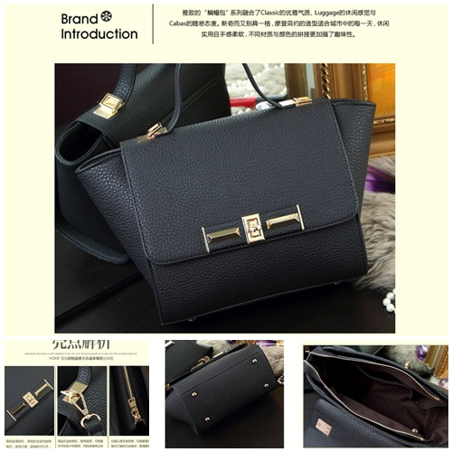 B203 IDR.205.000 MATERIAL PU SIZE L32XH19XW11CM WEIGHT 650GR COLOR BLACK