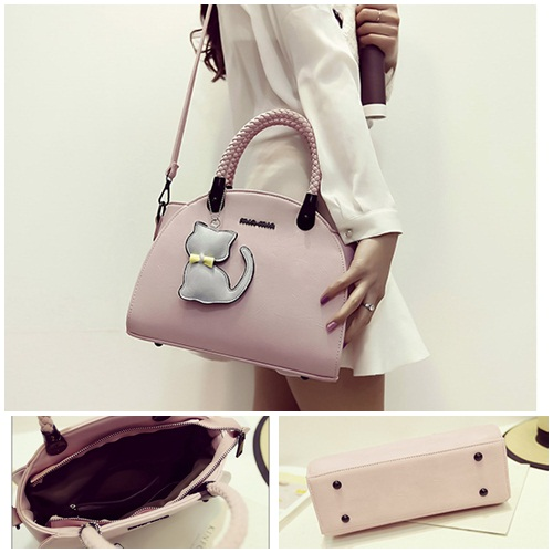 B2051 IDR.186.000 MATERIAL PU SIZE L29XH20XW16CM WEIGHT 850GR COLOR PINK
