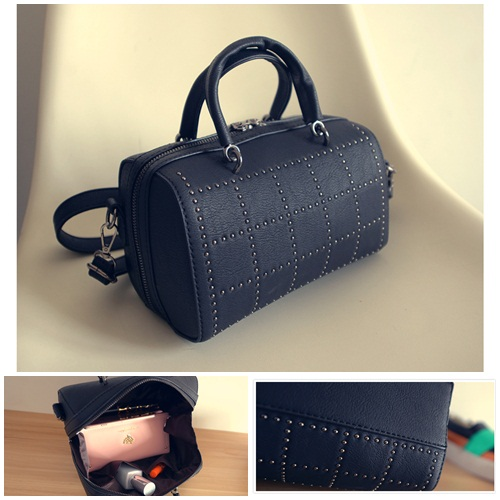 B2079 IDR.170.000 MATERIAL PU SIZE L22XH14XW14CM WEIGHT 650GR COLOR BLACK