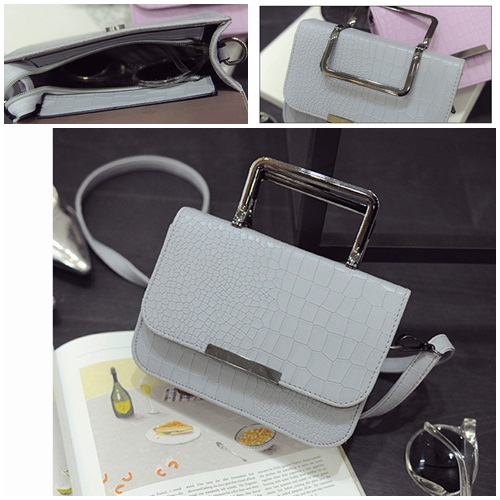 B2122 IDR.153.000 MATERIAL PU SIZE L19XH13XW7CM WEIGHT 500GR COLOR GRAY