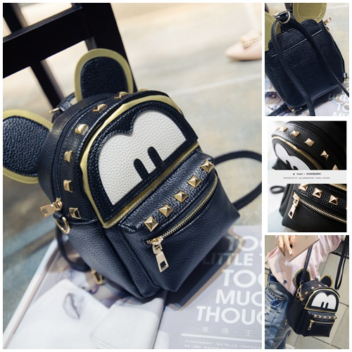 B21643 IDR.143.000 MATERIAL PU SIZE L19XH17XW10CM WEIGHT 400GR COLOR BLACK