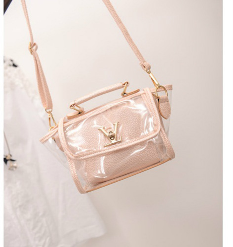 B2166 IDR.152.000 MATERIAL PU SIZE L19XH16XW10CM WEIGHT 600GR COLOR LIGHTPINK