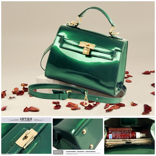 B2173 IDR.162.000 MATERIAL PU SIZE L20XH15XW11CM WEIGHT 650GR COLOR GREEN
