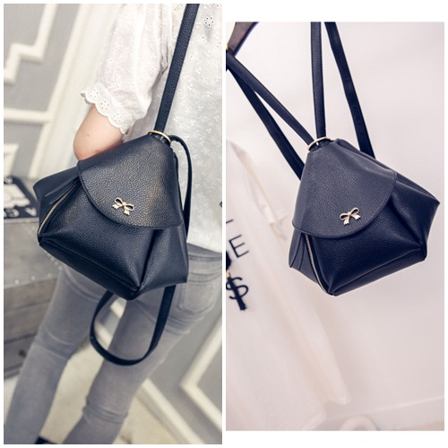 B2205 IDR.168.000 MATERIAL PU SIZE L22XH21XW15CM WEIGHT 650GR COLOR BLACK