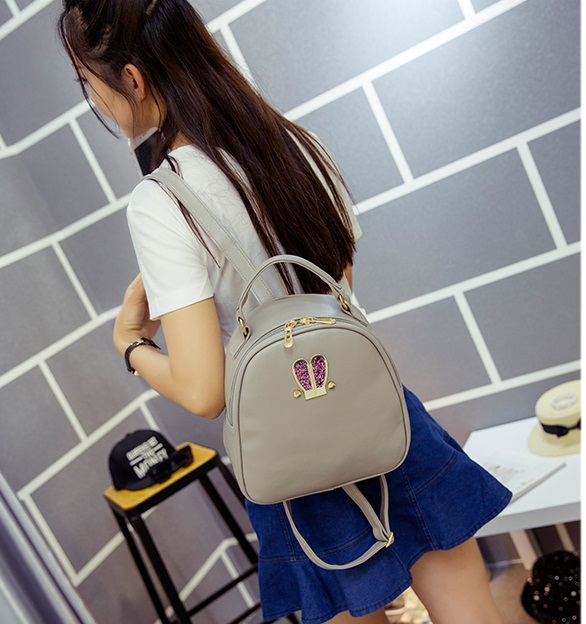 B2226 IDR.152.000 MATERIAL PU SIZE L24XH25XW10CM WEIGHT 600GR COLOR GRAY