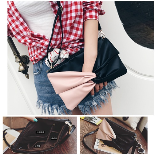 B2406 IDR.142.000 MATERIAL PU SIZE L27XH18CM WEIGHT 350GR COLOR PINK