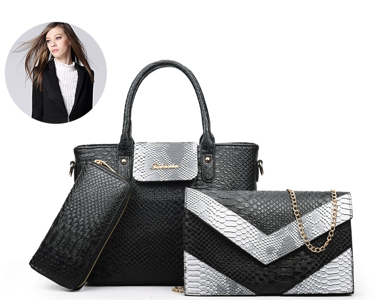 B2415-(3in1) IDR.222.000 MATERIAL PU SIZE L27XH22XW13CM WEIGHT 1400GR COLOR BLACK
