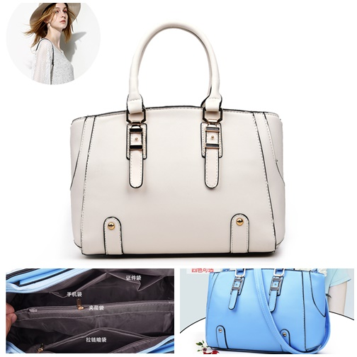 B2416 IDR.174.000 MATERIAL PU SIZE L28XH19XW10CM WEIGHT 700GR COLOR WHITE