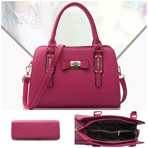 B2457 IDR.170.000 MATERIAL PU SIZE L31XH22XW13CM WEIGHT 800GR COLOR ROSE