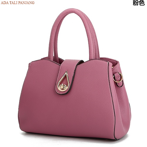 B2491 IDR.166.000 MATERIAL PU SIZE L28XH21XW13CM WEIGHT 800GR COLOR PINK