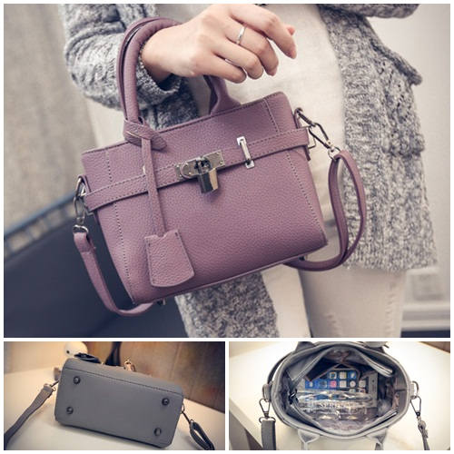 B27003 IDR.162.000 MATERIAL PU SIZE L23XH17XW9CM WEIGHT 600GR COLOR PURPLE