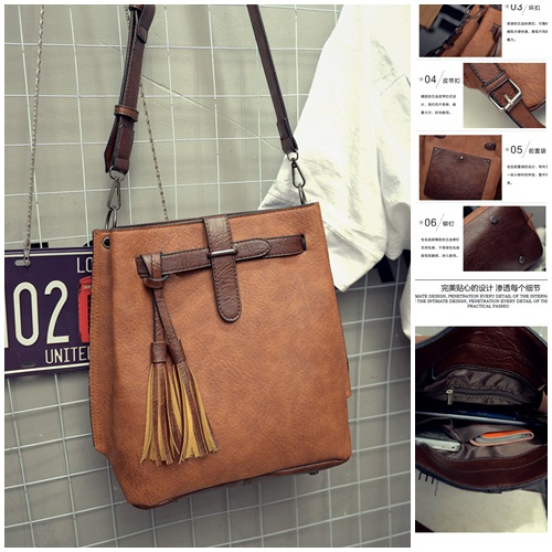 B27005 IDR.163.000 MATERIAL PU SIZE L30XH33XW13CM WEIGHT 750GR COLOR KHAKI