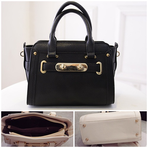 B2709 IDR.182.000 TAS FASHION MATERIAL PU SIZE L27XH20XW14CM WEIGHT 750GR COLOR BLACK