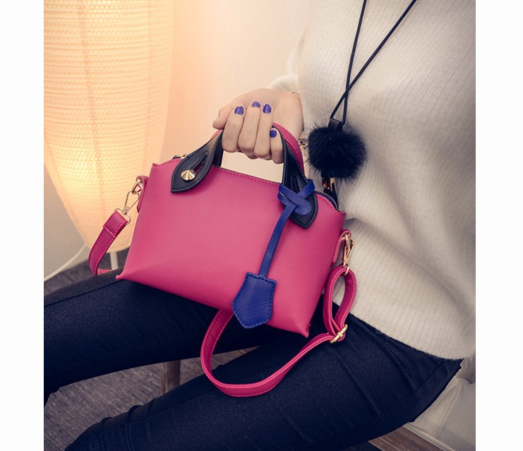 B27143 IDR.147.000 MATERIAL PU SIZE L21-18XH15XW9CM WEIGHT 550GR COLOR ROSE