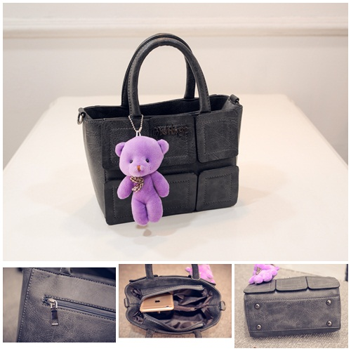 B27190 IDR.162.000 MATERIAL PU SIZE L21XH16XW11CM WEIGHT 600GR COLOR GRAY