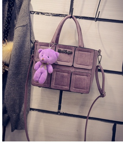 B27190 IDR.162.000 MATERIAL PU SIZE L21XH16XW11CM WEIGHT 600GR COLOR PURPLE