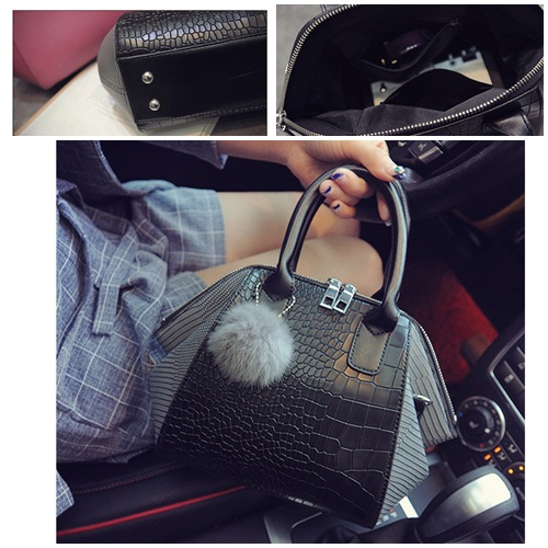 B27197 IDR.182.000 MATERIAL PU SIZE L32XH19XW11CM WEIGHT 650GR COLOR BLACKGRAY