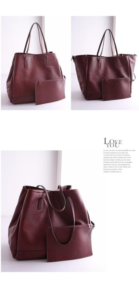 B2732-(2in1) IDR.182.000 MATERIAL PU SIZE L35XH32X20CM WEIGHT 1100GR COLOR RED