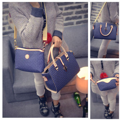 B27516-(3in1) IDR.220.000 MATERIAL PU SIZE L38XH24XW13CM WEIGHT 1000GR COLOR BLUE