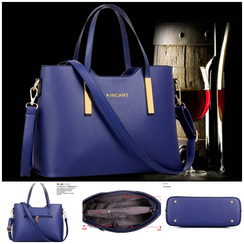 B27566 IDR.163.000 MATERIAL PU SIZE L33XH24XW13CM WEIGHT 750GR COLOR BLUE