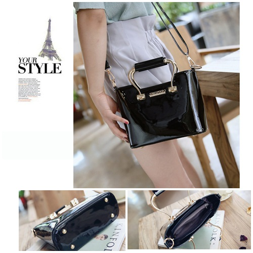B27624 IDR.170.000 MATERIAL PU SIZE L22XH15XW9CM WEIGHT 600GR COLOR BLACK