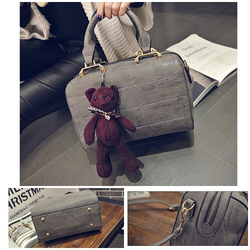 B27920 IDR.199.000 MATERIAL PU SIZE L25XH18XW15CM WEIGHT 800GR COLOR GRAY