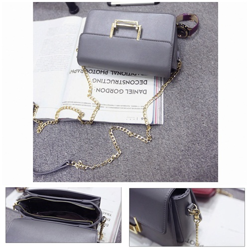 B27939 IDR.167.000 MATERIAL PU SIZE L23XH14XW7CM WEIGHT 600GR COLOR GRAY