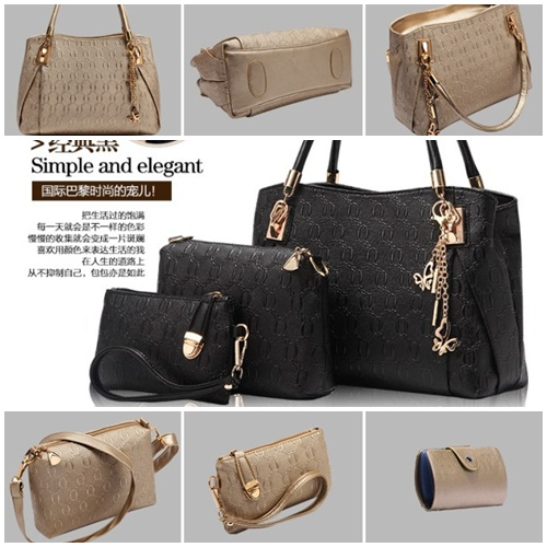B2798-(4in1) IDR.190.000 MATERIAL PU SIZE L32XH22XW14CM WEIGHT 1300GR COLOR BLACK