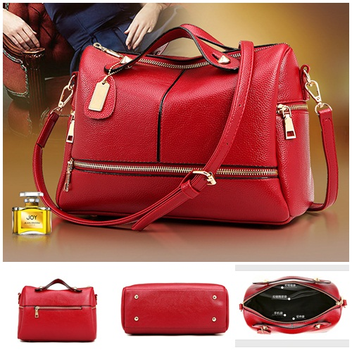 B28101 IDR.190.000 MATERIAL PU SIZE L30XH21XW12CM WEIGHT 800GR COLOR RED