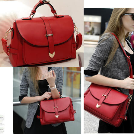 B306 IDR.167.000 MATERIAL PU SIZE L33XH23XW9CM,STRAP-120CM WEIGHT 850GR COLOR RED