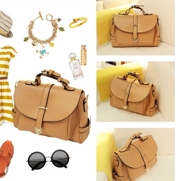 B306 IDR.170.000 MATERIAL PU SIZE L33XH23XW9CM,STRAP120CM WEIGHT 850GR COLOR KHAKI