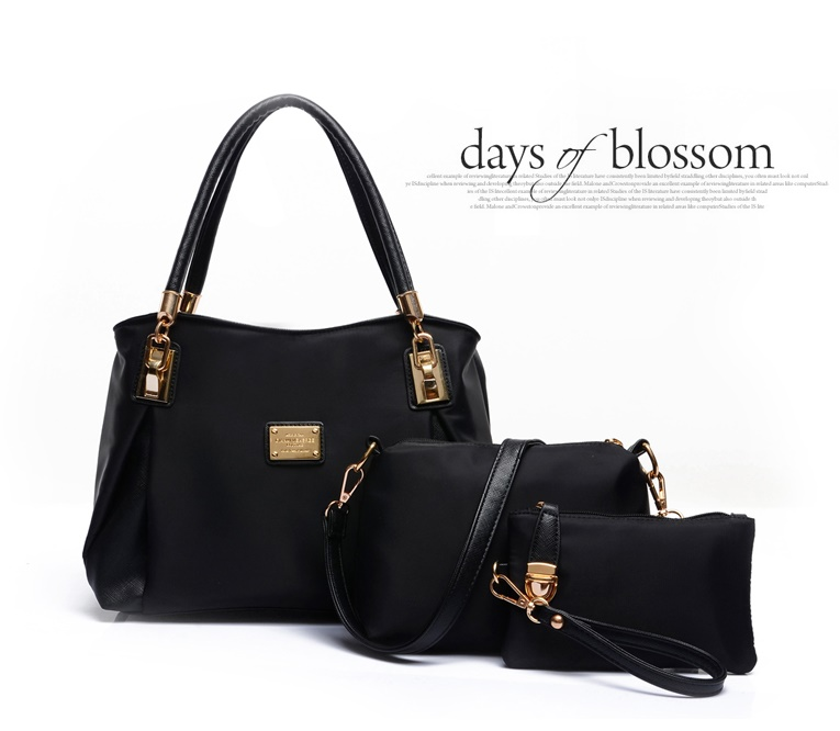 B3316-(3in1) IDR.210.000 MATERIAL NYLON SIZE L30XH23XW9CM WEIGHT 1000GR COLOR BLACK