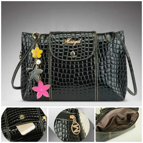 B332 IDR.165.000 MATERIAL PU SIZE L28XH22XW8CM WEIGHT 500GR COLOR BLACK
