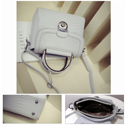 B337 IDR.167.000 MATERIAL PU SIZE L21XH18XW8CM WEIGHT 600GR COLOR GRAY