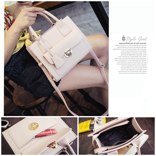 B3436 IDR.172.000 MATERIAL PU SIZE L23XH20XW10CM WEIGHT 650GR COLOR PINK