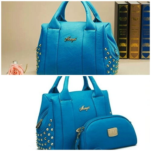 B365 (2in1) IDR.231.000 MATERIAL PU SIZE L32XH23XW13CM WEIGHT 950GR COLOR SKYBLUE