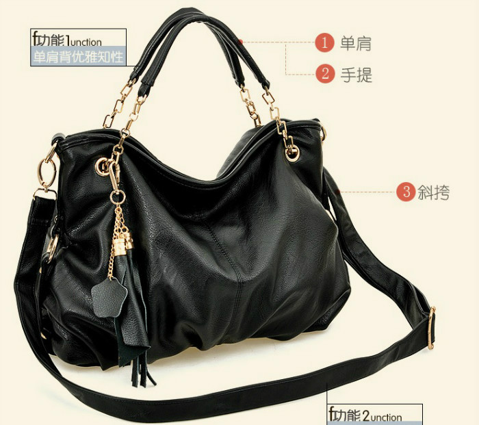 B3656 IDR.216.000 MATERIAL PU SIZE L45XH30XW10CM WEIGHT 950GR COLOR BLACK