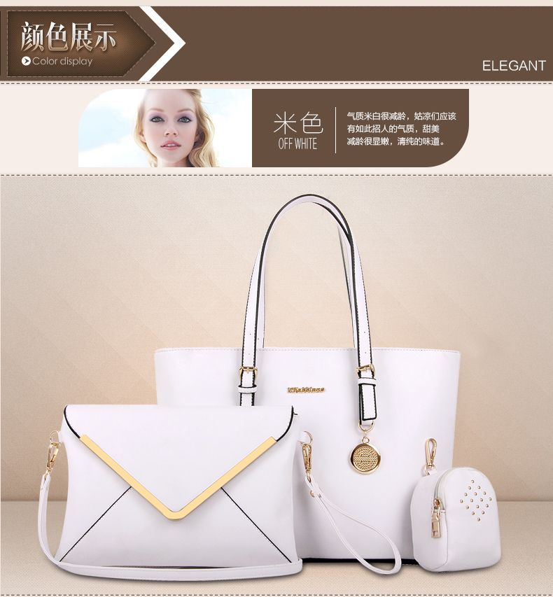 B366-(3in1) IDR.215.000 MATERIAL PU SIZE L33-41XH27XW14CM WEIGHT 1000GR COLOR WHITE