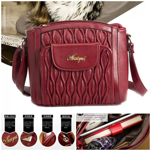 B370 IDR.202.000 MATERIAL PU SIZE L26XH23XW10CM WEIGHT 650GR COLOR RED