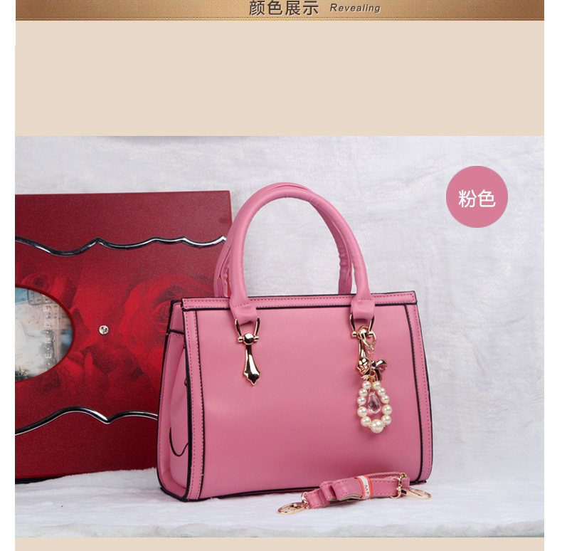 B373 IDR.215.000 MATERIAL PU SIZE L30XH22XW10CM WEIGHT 980GR COLOR PINK
