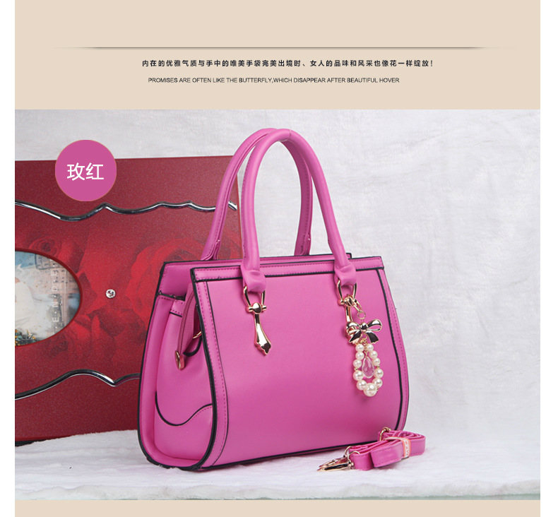 B373 IDR.215.000 MATERIAL PU SIZE L30XH22XW10CM WEIGHT 980GR COLOR ROSE