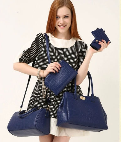 B378-(5in1) IDR.220.000 TAS FASHION MATERIAL PU SIZE BIG-L33XH25XW13CM,MEDIUM-L30XH20XW11CM WEIGHT 1300GR COLOR BLUE