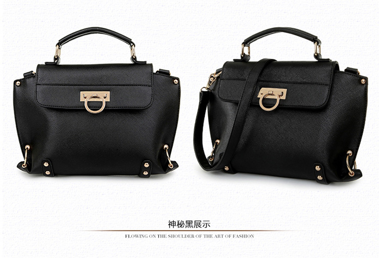 B412 IDR.205.000 MATERIAL PU SIZE L32XH22XW10CM WEIGHT 750GR COLOR BLACK