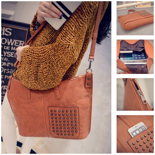 B492 IDR.172.000 MATERIAL PU SIZE L36XH30XW12CM WEIGHT 600GR COLOR ORANGE