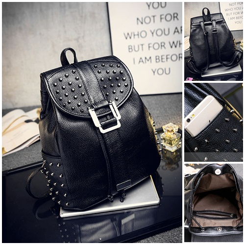 B520 IDR.205.000 MATERIAL PU SIZE L30XH31XW13CM WEIGHT 850GR COLOR BLACK