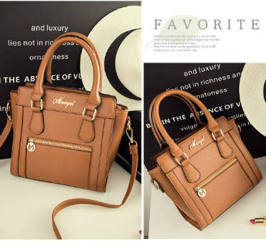 B537 IDR.190.000 MATERIAL PU SIZE L23XH23XW10CM WEIGHT 750GR COLOR BROWN