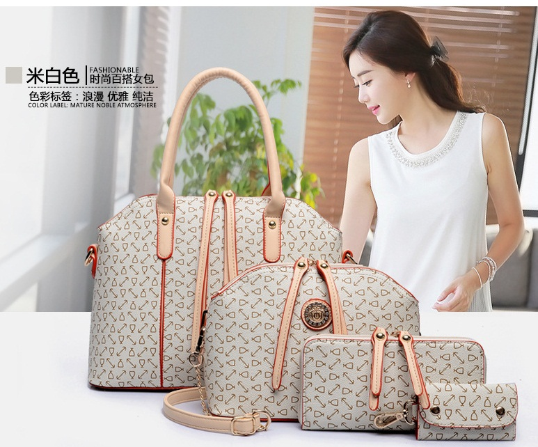 B557-(4in1) IDR.230.000 MATERIAL PU SIZE L33XH25XW12CM WEIGHT 1400GR COLOR BEIGE