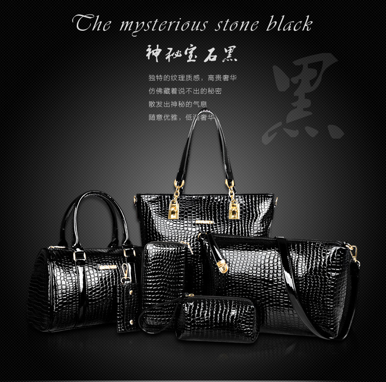 B558-(6in1) IDR.250.000 MATERIAL PU SIZE L30XH30XW13,L27XH18XW13CM WEIGHT 1400GR COLOR BLACK