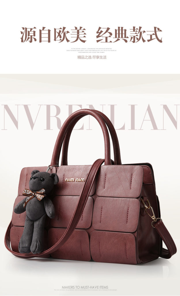 B568 IDR.195.000 MATERIAL PU SIZE L32XH21XW13CM WEIGHT 1200GR COLOR BROWN